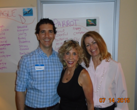 MIOH - Amazing Team: Andrew Utley, Marla Brucker and Elaine Andreoli