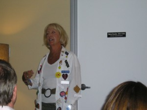Jill Knox talking about laughter.