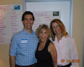 MIOH - Amazing Team: Andrew Utley, Marla Brucker and Elaine Andreoli