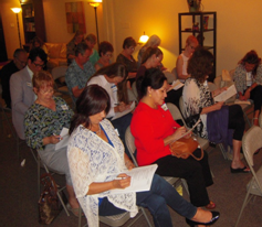 Attendees evaluating sleep habits